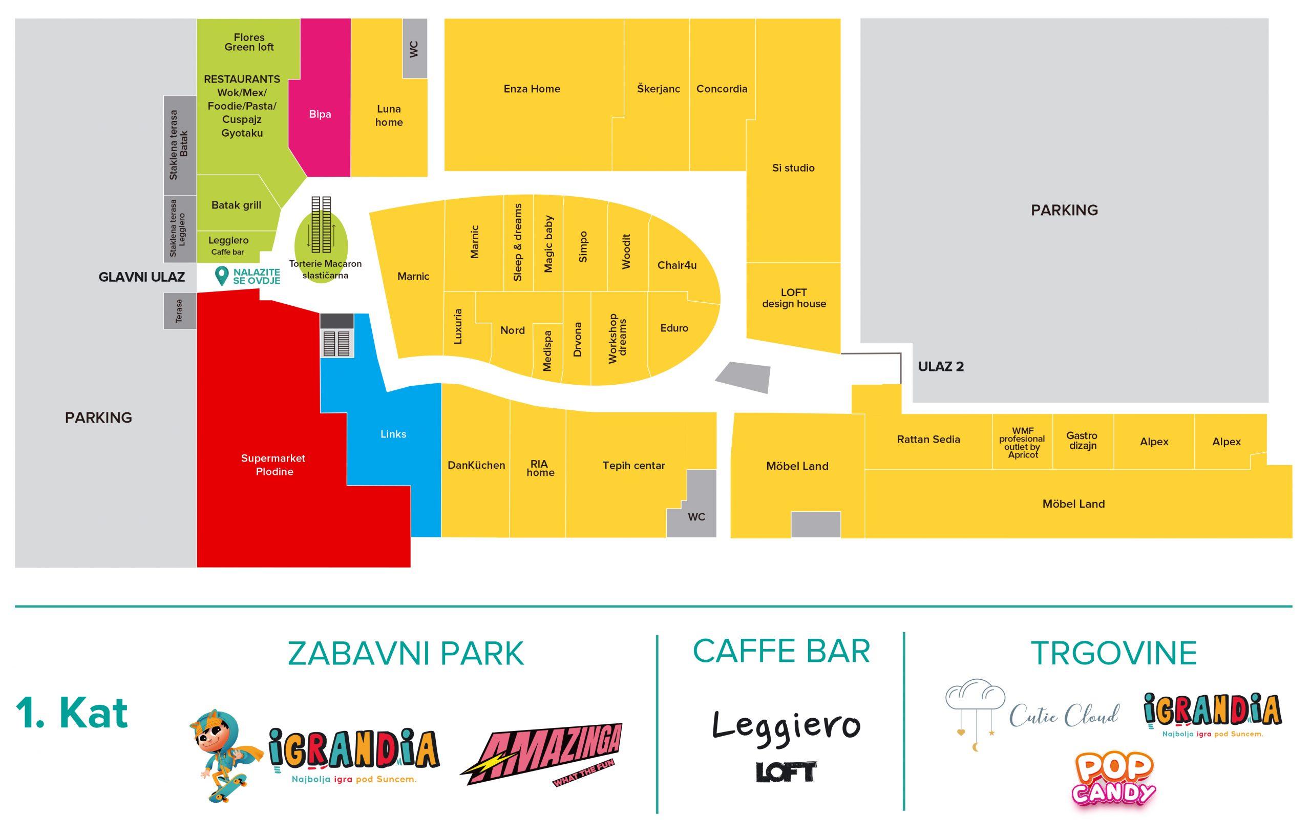 Family Mall Mapa